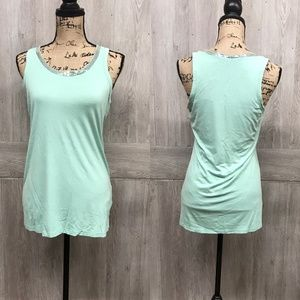 The Limited Sequin Detail Mint Tank Top BB399